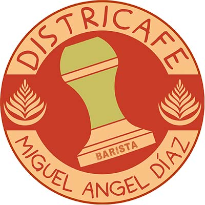 Logo Districafe miguel angel diaz