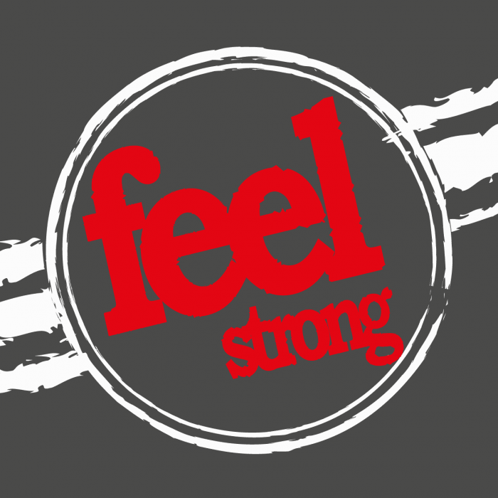Logo Feel Strong pagina web Sienttfuerte